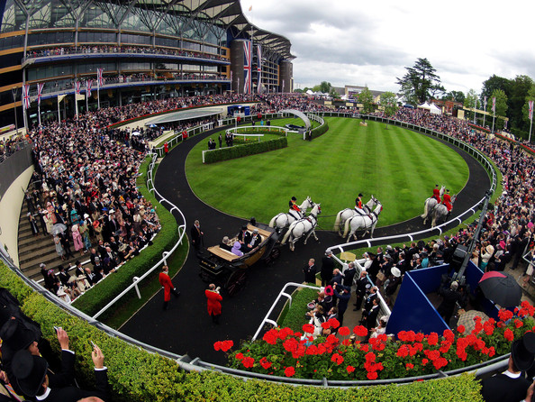 horse racing - winners enclosure at royal ascot