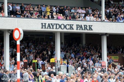 haydock park racecourse picture horse racing