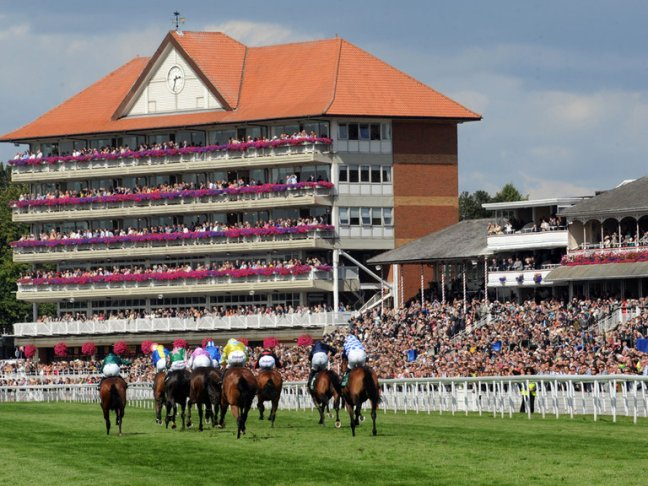 picture of horse racing - york racecourse