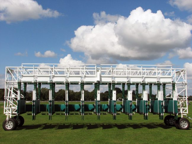 horse racing stalls image pic picture