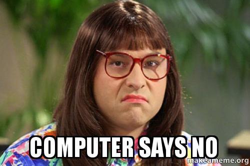 computer says no - david walliams