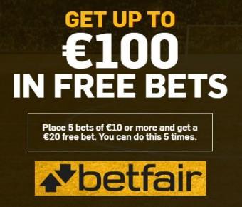Free Bets Betfair free bookies offer